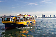 Tourist sightseeing boats in Tokyo Bay, Tokyo, Japan Friday November 25th 2016
