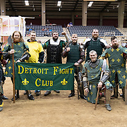Pendleton, SC.-February, 23, 2019-The Full Contact Medieval Combat Palmetto Knights  hosts the National Qualifiers for TEAM USA Final Melee qualifier. The host location is the T. ED Garison Arena in Pendleton, SC.