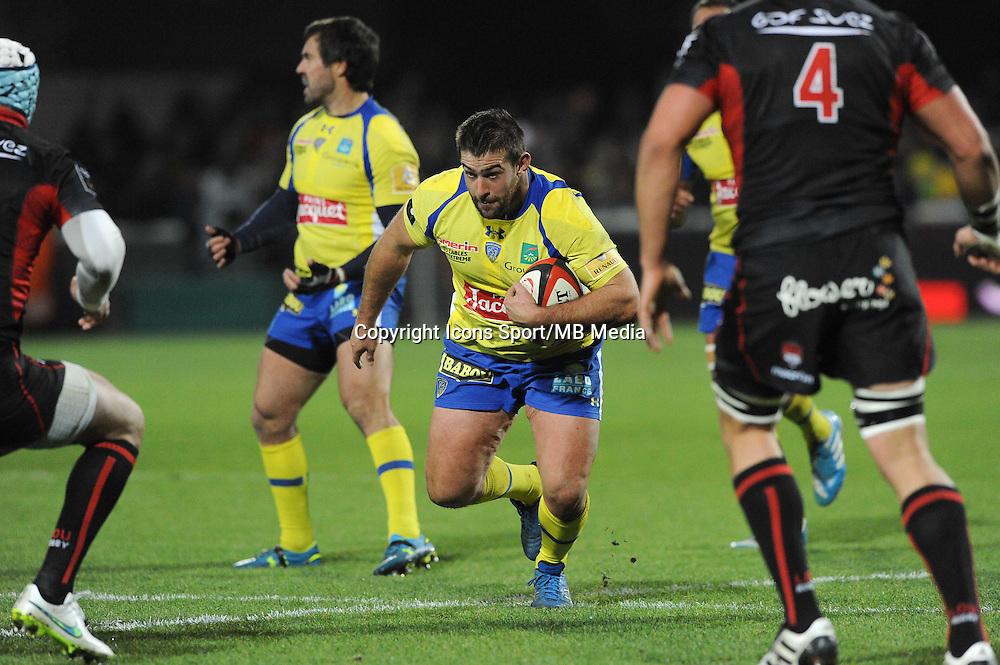 Raphael Chaume - 28.12.2014 - Lyon Olympique / Clermont - 14eme journee de Top 14 <br />Photo : Jean Paul Thomas / Icon Sport