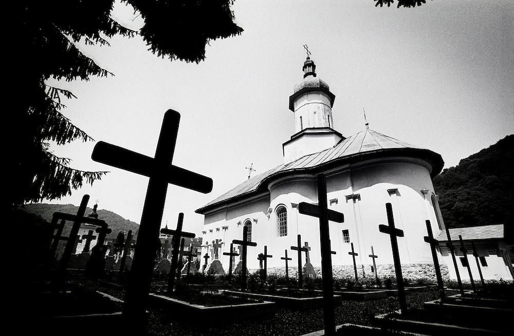 Neamt County, Romania July 2007<br /> Secu monastery.<br /> Photo: Ezequiel Scagnetti
