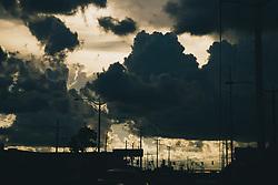 THEMENBILD - Wolken ueber Metairie, aufgenommen am 27.08.2018, Metairie, Vereinigte Staaten von Amerika //clouds above Metairie, Metairie, United States of America on 2018/08/27. EXPA Pictures © 2018, PhotoCredit: EXPA/ Florian Schroetter