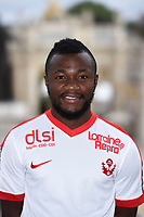 Serge N'GUESSAN during photoshooting of As Nancy Lorraine for new season 2017/2018 on September 12, 2017 in Nancy, France. (Photo by Fred Marvaux/Icon Sport)