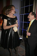 GRAYSON PERRY AND ANDREW EDMUNDS, Literary Review's Bad Sex In Fiction Prize.  In & Out Club (The Naval & Military Club), 4 St James's Square, London, SW1, 29 November 2006. <br />