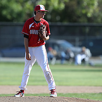 Leigh vs Westmont in a BVAL Baseball Game at Westmont High School, Campbell CA on 4/25/16. (Photograph by Bill Gerth (williamgerth.com))