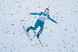 01.01.2020, Olympiaschanze, Garmisch Partenkirchen, GER, FIS Weltcup Skisprung, Vierschanzentournee, Garmisch Partenkirchen, Wertungssprung, im Bild Clemens Leitner (AUT) // Clemens Leitner of Austria during his competition Jump for the Four Hills Tournament of FIS Ski Jumping World Cup at the Olympiaschanze in Garmisch Partenkirchen, Germany on 2020/01/01. EXPA Pictures © 2019, PhotoCredit: EXPA/ Dominik Angerer