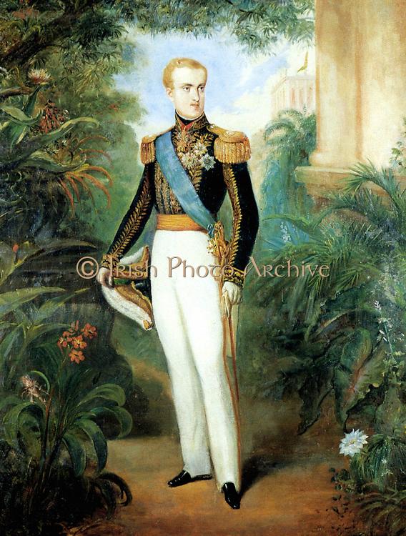 Pedro II (English: Peter II; 2 December 1825 – 5 December 1891), Pedro II, at age 20 wearing court dress, 1846. Emperor of Brazil Reign 7 April 1831 – 15 November 1889