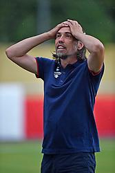 22.07.2015, Meyrin, SUI, Testspiel, AS Monaco vs 1. FSV Mainz 05, im Bild Trainer Martin Schmidt (Mainz) // during a international friendly football match between AS Monaco and 1. FSV Mainz 05 Meyrin, Switzerland on 2015/07/22. EXPA Pictures © 2015, PhotoCredit: EXPA/ Freshfocus/ Urs Lindt<br /> <br /> *****ATTENTION - for AUT, SLO, CRO, SRB, BIH, MAZ only*****