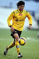 Fotball , 15. mars 2009 , Tippeligaen , Strømsgodset - Start 3-3<br />  Christian Bolanos , Start