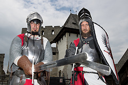 The Knights at Old Castle Celje during 3rd Stage of 25th Tour de Slovenie 2018 cycling race between Slovenske Konjice and Celje (175,7 km), on June 15, 2018 in  Slovenia. Photo by Matic Klansek Velej / Sportida