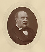 'William Henry Smith (1825-1891) English bookseller, newsagent and Conservative politician.  First Lord of the Treasury, and Leader of the House of Commons 1887-1891.'