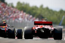 July 27, 2018 - Budapest, Hungary - Motorsports: FIA Formula One World Championship 2018, Grand Prix of Hungary, .#7 Kimi Raikkonen (FIN, Scuderia Ferrari) (Credit Image: © Hoch Zwei via ZUMA Wire)