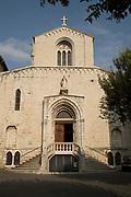 Exterior of Notre-Dame-du-Puy de Grasse Church, Grasse, France