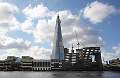 The Shard nearing completion
