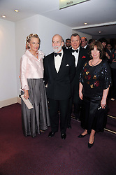 Left to right, TRH PRINCE & PRINCESS MICHAEL OF KENT, HE The Russian Ambassador Yuri Fedotov and Mrs Fedotov at 'Homage to Nureyev' a tribute to the legendary ballet dancer Rudolf Nureyev performed at the ENO, London COliseum, St.Martin's Lane, London on 21st March 2010.