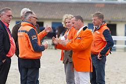 Team Netherlands : Ehrens Rob (NED), Thijssen Leon (NED)<br /> FEI Nations Cup La Baule 2012<br /> © Dirk Caremans