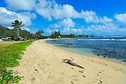 Aukai Beach Park, Hau'ula, Oahu, Hawaii