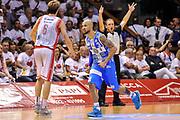 DESCRIZIONE : Campionato 2014/15 Serie A Beko Grissin Bon Reggio Emilia - Dinamo Banco di Sardegna Sassari Finale Playoff Gara7 Scudetto<br /> GIOCATORE : David Logan<br /> CATEGORIA : Ritratto Esultanza<br /> SQUADRA : Dinamo Banco di Sardegna Sassari<br /> EVENTO : LegaBasket Serie A Beko 2014/2015<br /> GARA : Grissin Bon Reggio Emilia - Dinamo Banco di Sardegna Sassari Finale Playoff Gara7 Scudetto<br /> DATA : 26/06/2015<br /> SPORT : Pallacanestro <br /> AUTORE : Agenzia Ciamillo-Castoria/L.Canu