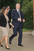 LONDON - JUNE 27: Prince Andrew Duke Of York attended the English National Ballet Summer Party, The Orangery, Kensington Palace, London, UK, June 27, 2012.(Photo by Richard Goldschmidt)