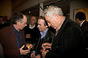 IAN MCEWAN, MARTIN AMIS AND PETER MAYER,, party to celebrate the 100th issue of Granta magazine ( guest edited by William Boyd.) hosted by Sigrid Rausing and Eric Abraham. Twentieth Century Theatre. Westbourne Gro. London.W11  15 January 2008. -DO NOT ARCHIVE-© Copyright Photograph by Dafydd Jones. 248 Clapham Rd. London SW9 0PZ. Tel 0207 820 0771. www.dafjones.com.