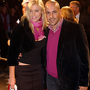 Premiere Polar Express, Mental Theo Nabuurs en vriendin Armanda Barten