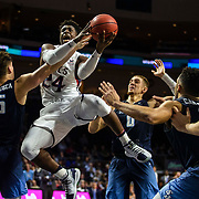 Mar 11 2019  Las Vegas, NV, U.S.A. St. Mary's forward Malik Fitts (24) drives to the basket during the NCAA  West Coast Conference Men's Basketball Tournament semi -final between the San Diego Toreros and the Saint Mary's Gaels 69-62 win at Orleans Arena Las Vegas, NV.  Thurman James / CSM