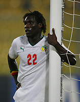 Photo: Steve Bond/Richard Lane Photography.<br />Senegal v South Africa. Africa Cup of Nations. 31/01/2008. Malick Ba Papa of Senegal and Basel awaits a corner