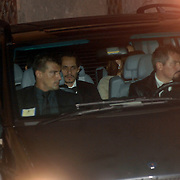 ITA/Bracchiano/20061118 - Huwelijk Tom Cruise en Katie Holmes, aankomst Marc Anthony en Jennifer Lopez die express aan de andere kant is gaan zitten