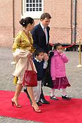 Prinses Leonore dochter , de jongste dochter van Prins Constantijn en  Prinses Laurentien is zondagochtend 8 oktober 2006 in  de kapel van Paleis Het Loo  in Apeldoorn gedoopt. / Princes Leonore, the jongest daughter of Prince Constantijn en Princes Laurentien, is baptist in Palace Het Loo in Apeldoorn.<br /> <br /> Op de foto / On the photo: