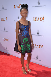 Skai Jackson attends the Weinstein Company's LEAP! premiere at the Grove Theatre on August 19, 2017 in Los Angeles, California. Photo by Lionel Hahn/AbacaPress.com