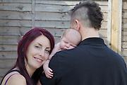 Klemens Family, Emika newborn portraits