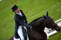 Pupier Caroline (BEL) - Forza van de Breemeersen<br /> FEI World Championship for Young Horses Le Lion d'Angers 2012<br /> © Hippo Foto - Jon Stroud