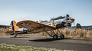 Ryan PT-22 Recruit taxiing at the 2014 Hood River Fly-In at WAAAM.