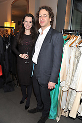 NATALIE THEO and JAMES HARPEL at a Atelier-Mayer Private Shopping Evening held at 18 Horbury Crescent, London W11 on 20th November 2012.