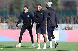 England's Callum Wilson during the training session at Enfield Training Ground, London.