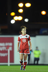 Bristol Academy Womens' Angharad James - Photo mandatory by-line: Dougie Allward/JMP - Mobile: 07966 386802 - 13/11/2014 - SPORT - Football - Bristol - Ashton Gate - Bristol Academy Womens FC v FC Barcelona - Women's Champions League