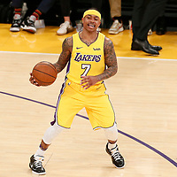 05 March 2018:  during the 108-103 victory over the LA Lakers, at the Staples Center, Los Angeles, California, USA.