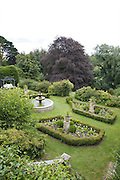 View of the main lower garden at The Old Rectory, Chumleigh, Devon CREDIT: Vanessa Berberian for The Wall Street Journal<br /> LUXRENT-Nanassy/Chulmleigh