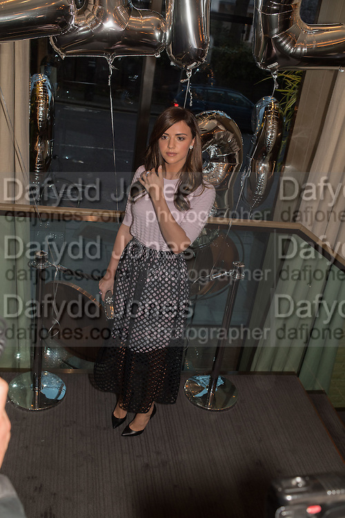 Lucy Mecklenburgh, Spectator Life - 3rd birthday party. Belgraves Hotel, 20 Chesham Place, London, SW1X 8HQ, 31 March 2015