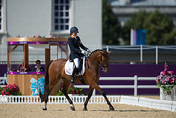 Voets Sanne (NED) - Vedet PB<br /> Team Test - Grade III - Dressage <br /> London 2012 Paralympic Games<br /> © Hippo Foto - Jon Stroud