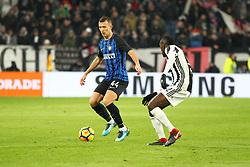 December 9, 2017 - Turin, Piedmont, Italy - Ivan Perisic (FC Internazionale) during the Serie A football match between Juventus FC and FC Internazionale at Allianz Stadium on 09 December, 2017 in Turin, Italy..The final score is 0-0. (Credit Image: © Massimiliano Ferraro/NurPhoto via ZUMA Press)