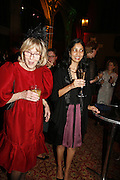 JOAN BINGHAM AND KIRAN DESAI Drinks Reception before the Man Booker Prize 2006. Guildhall, Gresham Street, London, EC2, 10 October 2006. -DO NOT ARCHIVE-© Copyright Photograph by Dafydd Jones 66 Stockwell Park Rd. London SW9 0DA Tel 020 7733 0108 www.dafjones.com