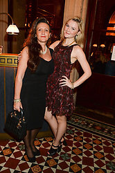 AMBER ATHERTON and her mother JANE ATHERTON at Models and Mothers Private View, a photographic exhibition in aid of Breakthrough Breast Cancer held at The Gilbert Scott, St Pancras Renaissance Hotel, London, NW1 on 7th October 2013.