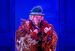 The Magic Flute <br /> Music by Mozart <br /> Welsh National Opera, Wales Millennium Centre, Cardiff, Wales, Great Britain <br /> 13th February 2019 <br /> Directed by Dominic Cooke <br /> <br /> <br /> <br /> Mark Stone as Papageno<br /> <br /> <br /> Photograph by Elliott Franks