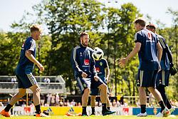 June 1, 2018 - BÃ¥Stad, Sverige - 180601 Pontus Jansson under en träning under Svenska fotbollslandslaget förläger inför fotbolls-VM den 1 juni 2018 i BÃ¥stad  (Credit Image: © Petter Arvidson/Bildbyran via ZUMA Press)