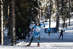 14.02.2021, Center Pokljuka, Pokljuka, SLO, IBU Weltmeisterschaften Biathlon, Sprint, Damen, im Bild chevalier boichet (anais) (fra) // during womens Sprint competition of IBU Biathlon World Championships at the Center Pokljuka in Pokljuka, Slovenia on 2021/02/14. EXPA Pictures © 2021, PhotoCredit: EXPA/ Pressesports/ Frederic Mons<br /> <br /> *****ATTENTION - for AUT, SLO, CRO, SRB, BIH, MAZ, POL only*****