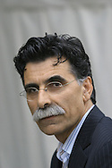 Iranian writer Kader Abdolah pictured at the Edinburgh International Book Festival where he talked about his debut novel about the changing face of his native country. The Book Festival was the World's largest literary event and featured writers from around the world. The 2006 event featured around 550 writers and ran from 13-28 August.