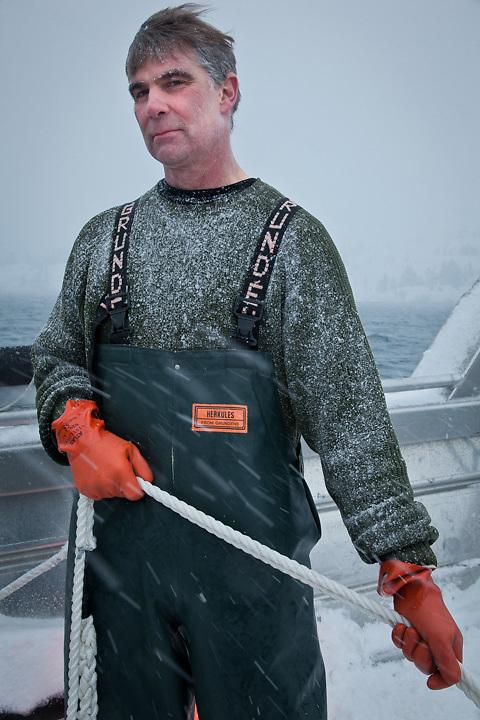 3.19.2012  Scott Lindquist, Alaska Distillers General Manager and glacier ice harvester in Price William Sound