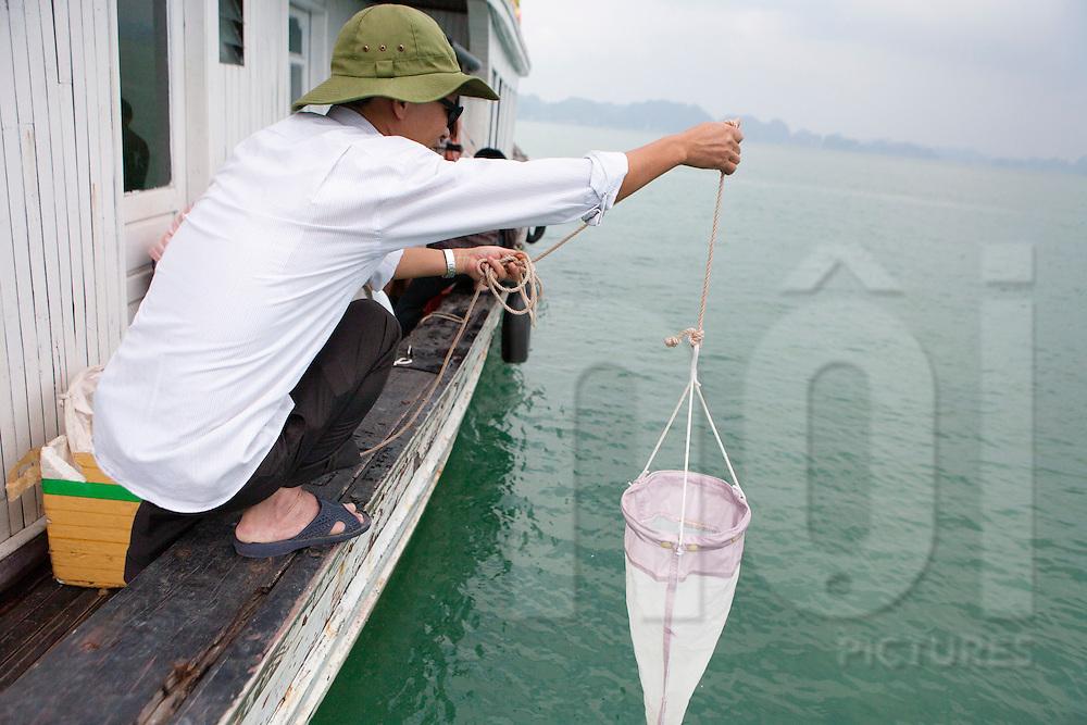 Black carbon study, Halong Bay, Quang Ninh Province, Vietnam, Southeast Asia