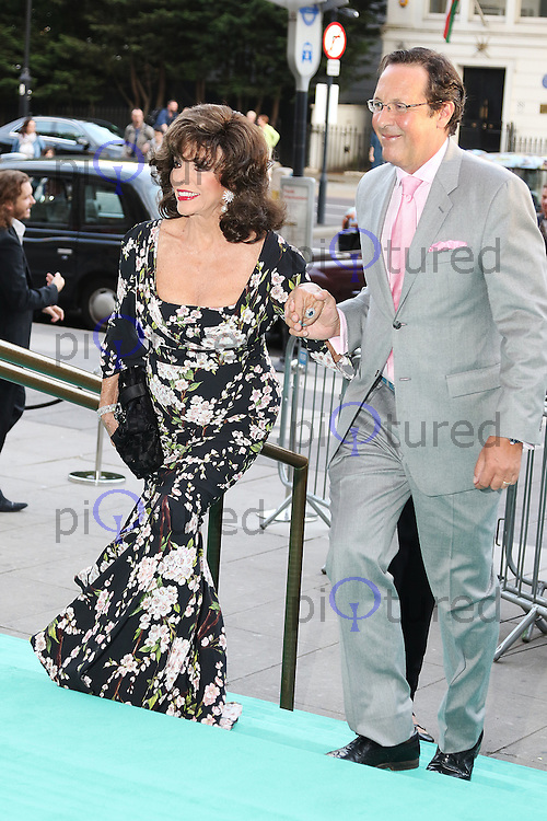 Joan Collins, V&A Summer Party, Victoria and Albert Museum, London UK, 22 June 2016, Photo by Richard Goldschmidt