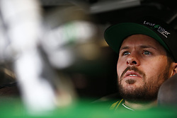 October 19, 2018 - Kansas City, Kansas, United States of America - Ryan Truex (11) hangs out in the garage during practice for the Kansas Lottery 300 at Kansas Speedway in Kansas City, Kansas. (Credit Image: © Justin R. Noe Asp Inc/ASP via ZUMA Wire)